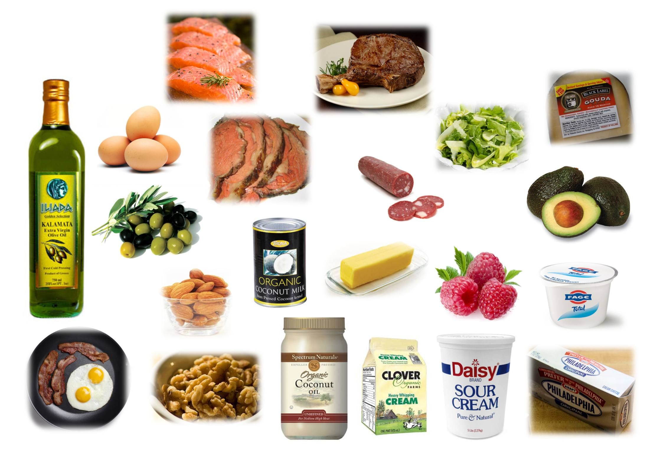 Foods I typically eat