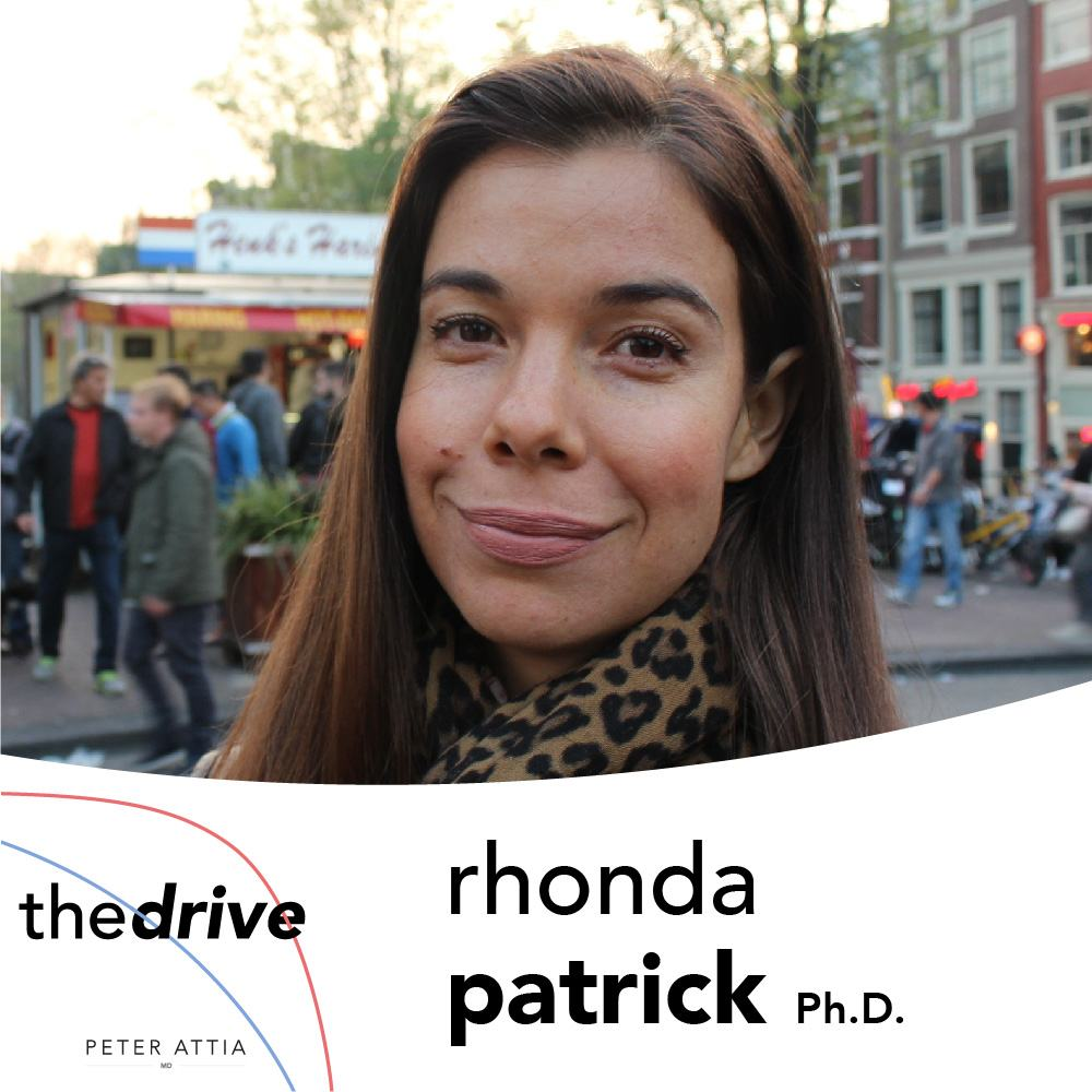 02 - Rhonda Patrick, Ph D : the performance and longevity paradox of
